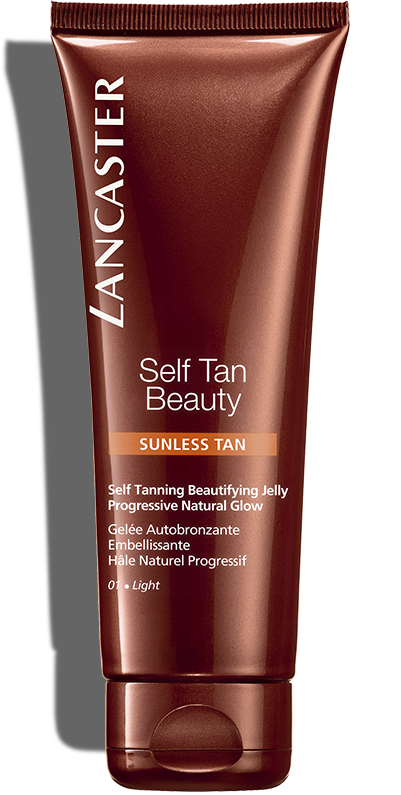Self-Tanning Beautifying Jelly for face & body - Light