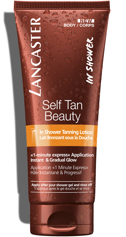In Shower Self Tanner Tanning Lotion Lancaster Beauty