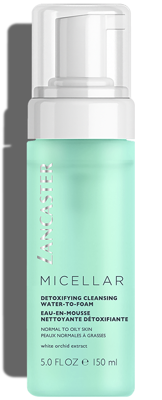 Micellar Detoxifying Water-to-Foam