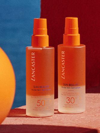 Aguas protectoras del sol con SPF 30 y SPF 50