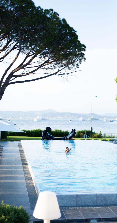 Die Riviera aus 3 Perspektiven im Kube Hotel in Saint Tropez