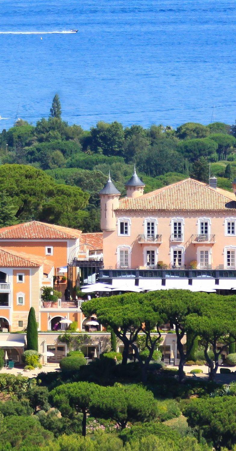 Les impressions de Riviera du château de la Messardière